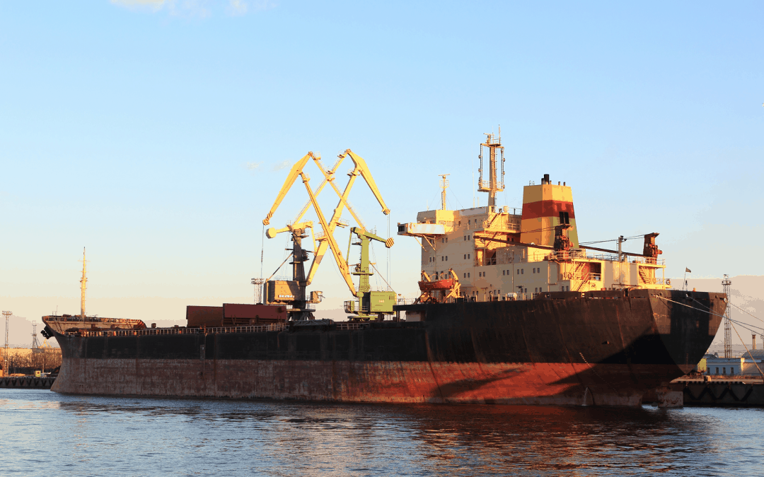 The Baltic Dry Index Is Falling Again