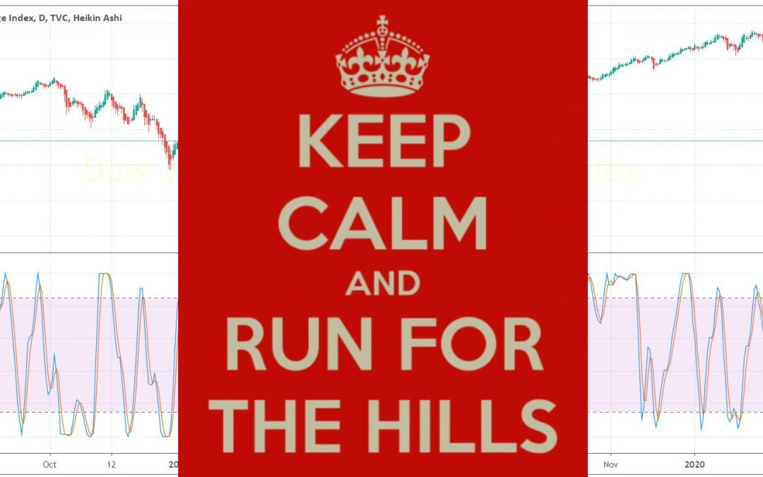 Keep Calm And Run For The Hills